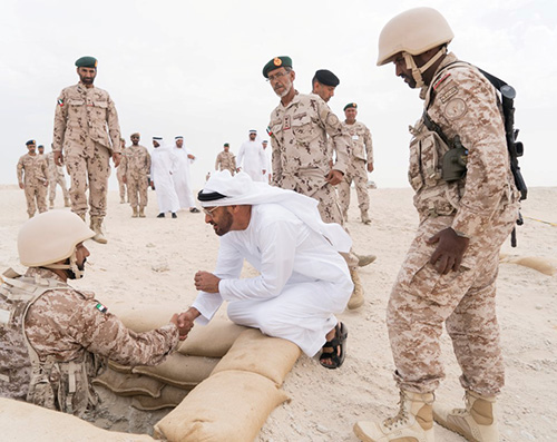"""""""Protectors of the Nation"""" Military Drill Concludes in UAE"""