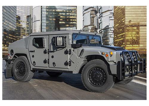 AM General Debuts New Light Tactical Vehicle at Eurosatory