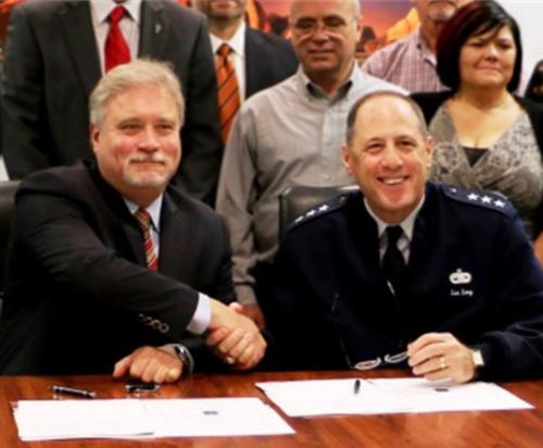 Orbital ATK, USAF Sustainment Center Sign Support Agreement