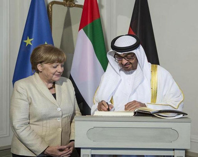 Abu Dhabi Crown Prince Pays Official Visit to Germany
