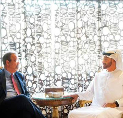 Abu Dhabi Crown Prince Receives Brazilian Defense Minister