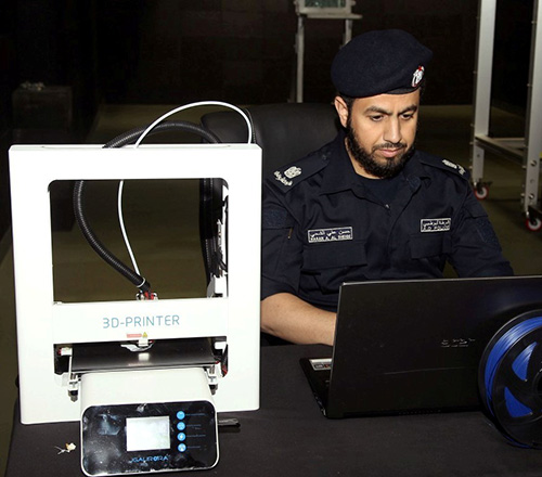 Abu Dhabi Police Launches 3D Printing Initiative