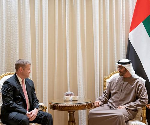 Acting Secretary of US Army Visits UAE