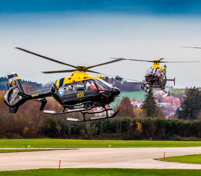 Airbus Helicopters Delivers Last Six EC135T2+ to Australia