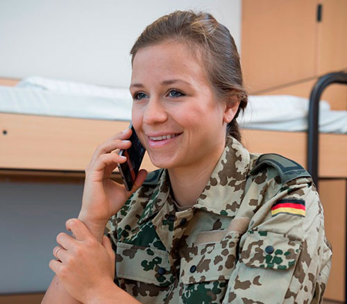 Airbus to Provide Welfare Media Services for German Troops Worldwide