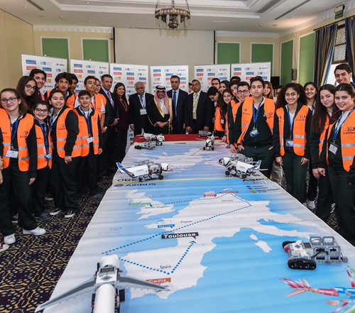 Airbus Little Engineer Workshop Takes off in Jordan
