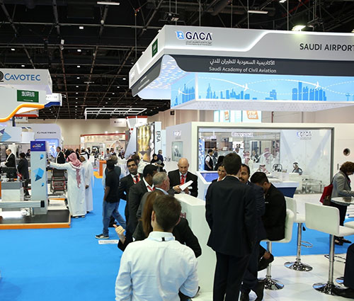 Airport Show Remains Key B2B Venue for Saudi Exhibitors