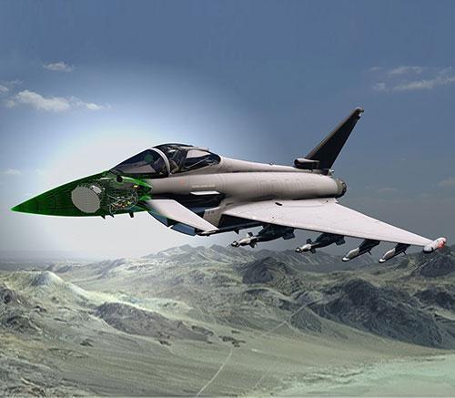 BAE Systems, Leonardo to Develop AESA Radar for RAF Typhoon