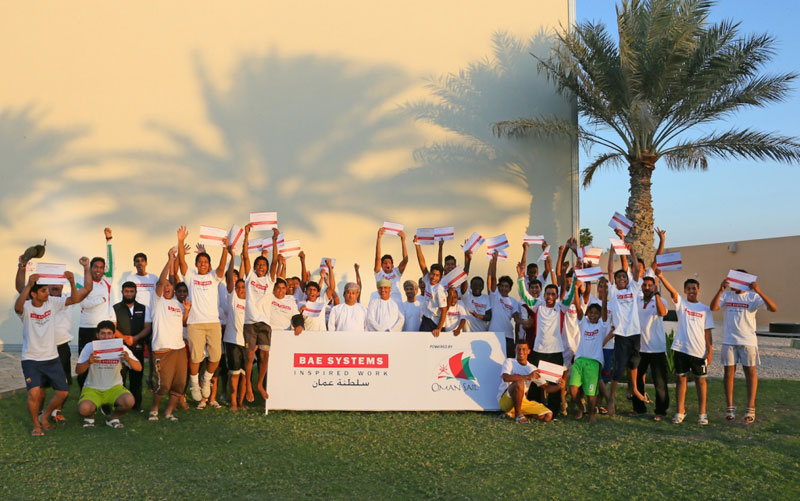 BAE Systems, Oman Sail Launch Schools' Leadership Initiative