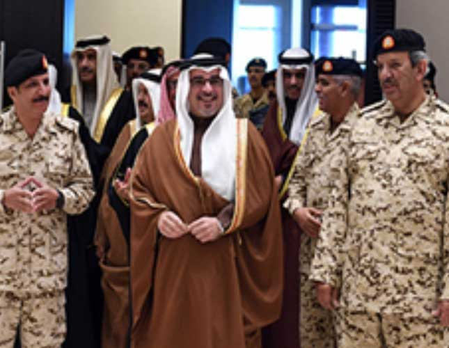 Bahrain's Deputy King Inaugurates New Officers' Club