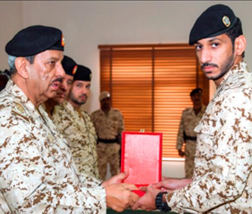 Bahrain's Commander-in-Chief Attends Graduation Ceremony