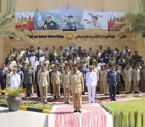 Bahrain's Commander-in-Chief Attends Two Graduation Ceremonies