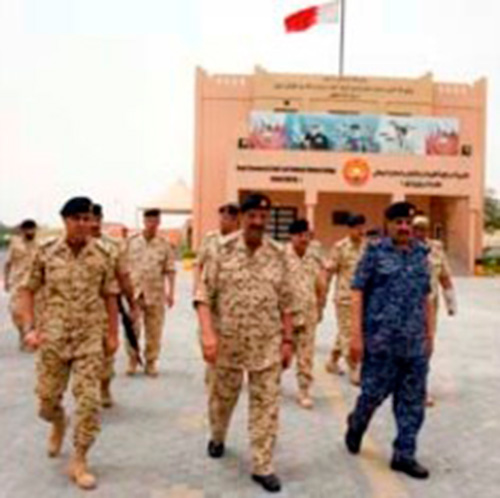 Bahrain's Commander-in-Chief Visits Military College