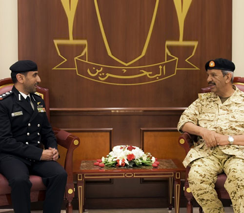 Bahrain's Defense Chief Meets Combined Task Force Commander
