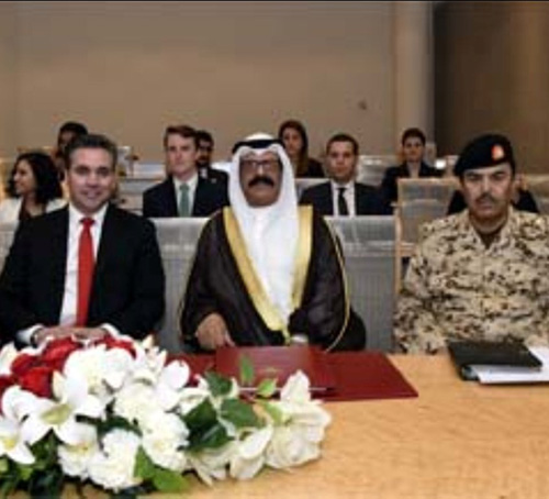 Bahrain's Defense Minister Receives U.S Congress Delegation