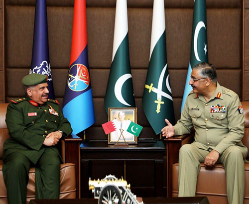 Bahrain's National Guard Director Visits Pakistan
