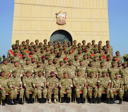 Bahrain's National Guard Holds Graduation Ceremony