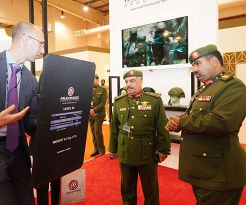 Bahrain's National Guard Staff Director Tours BIDEC