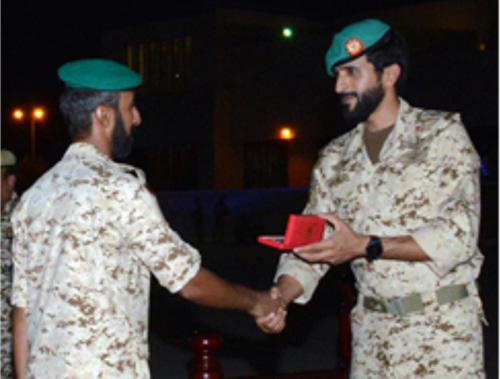 Bahrain's Royal Guard Commander Grants Recognition Medals