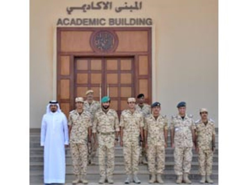 Bahrain's Royal Guard Commander Patronizes Cadets Graduation
