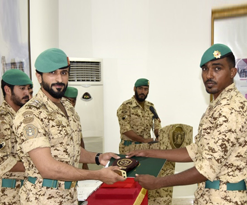 Bahrain's Royal Guard Commander Patronizes Military Graduation