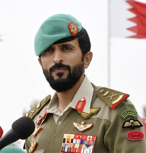 Bahrain's Royal Guard Commander Stresses Support for BIDEC 2019
