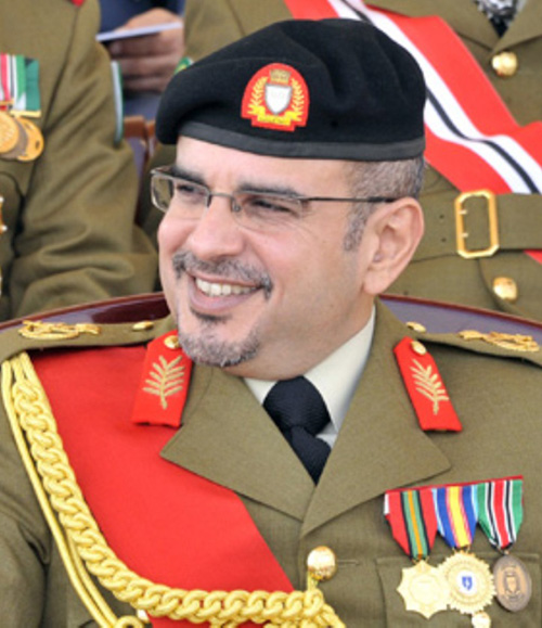 Bahrain Crown Prince Attends Isa Royal Military College Graduation