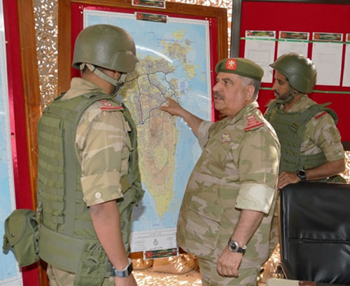 Bahrain Defense Force, National Guard, Interior Ministry Hold Joint Drill