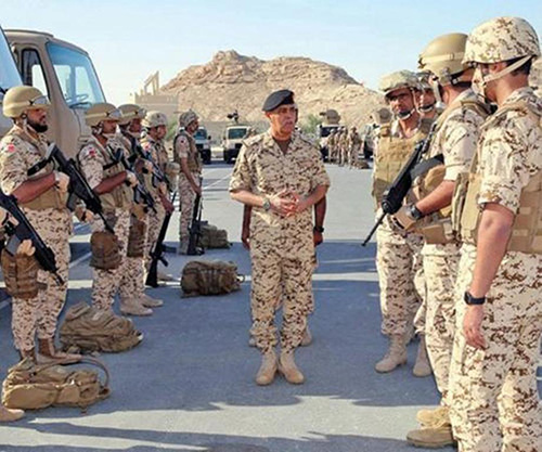 "Bahrain Defense Force Participates in ""Gulf Shield 1"" Drill"