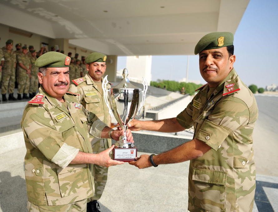 Bahrain National Guard Director Patronizes Officers' Graduation