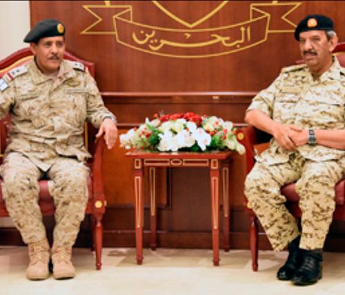 Saudi, Jordanian Military College Delegations Visit Bahrain