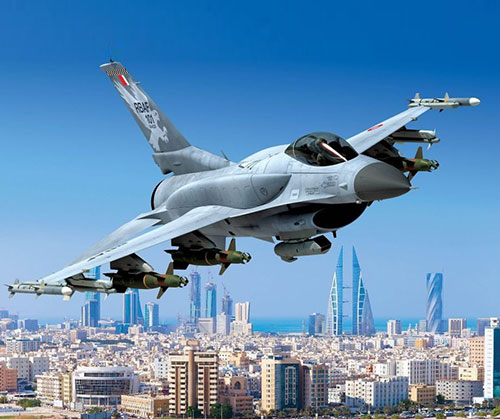 Bahrain Requests Weapons to Support F-16 Block 70/F-16V Aircraft Fleet
