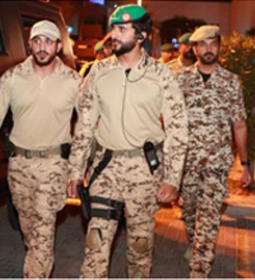 Bahrain Royal Guard Commander Attends Guard 1 Drill