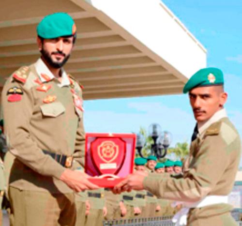 Bahrain Royal Guard Commander Patronizes Military Graduation