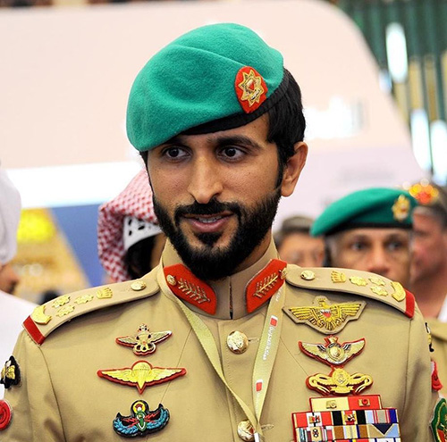 Bahrain Royal Guard Commander Receives Ph.D., Master's Graduates