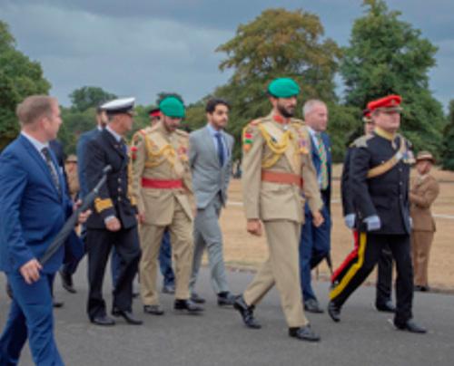 Bahrain Royal Guard Commanders Visit Sandhurst Academy