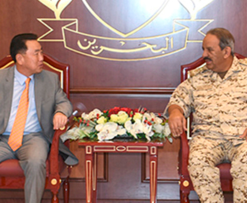 Bahrain's Defense Chief Receives South Korean Delegation