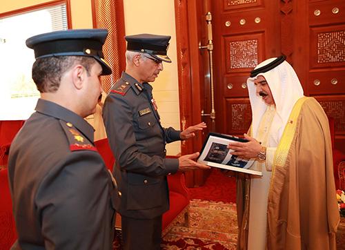 Bahrain's King Hails Royal Air Force Achievements