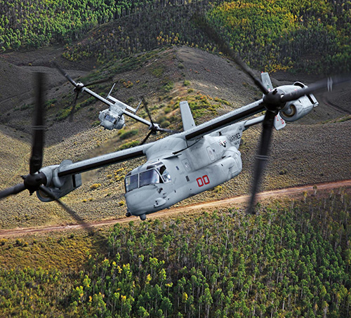Bell Boeing to Produce U.S. Navy CMV-22B Under $4 Billion Contract