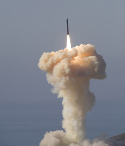 Boeing Team Loads Milestone Missile into Silo
