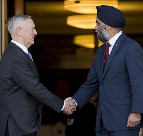 Canada, U.S. Review Mutual Defense, Security Priorities