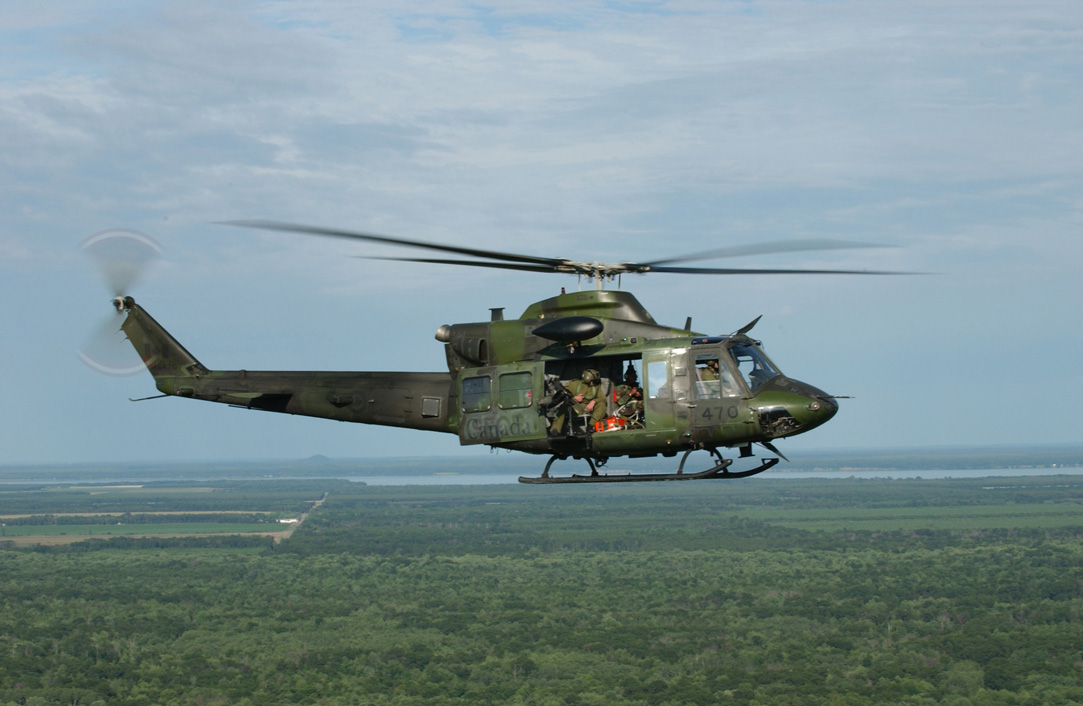 Canada Deploying Four Tactical Griffon Helicopters to Iraq