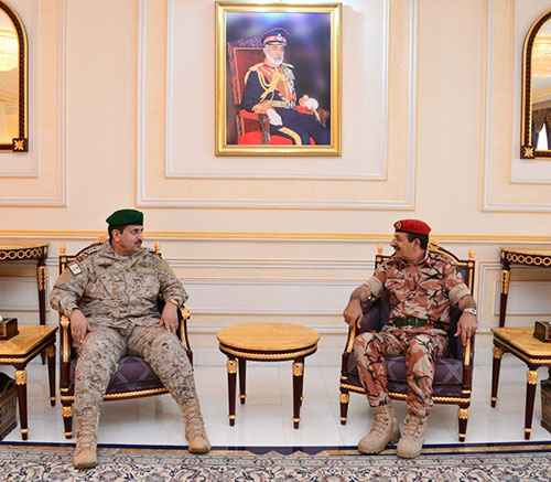 Chief of GCC Unified Military Command Visits Oman