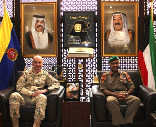 Chief of General Staff of Polish Armed Forces Visits Kuwait
