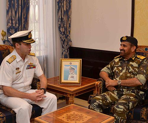 Chief of Royal Australian Navy Visits Oman