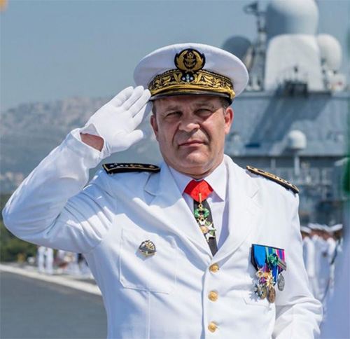 Chief-of-Staff of French Navy Visits UAE