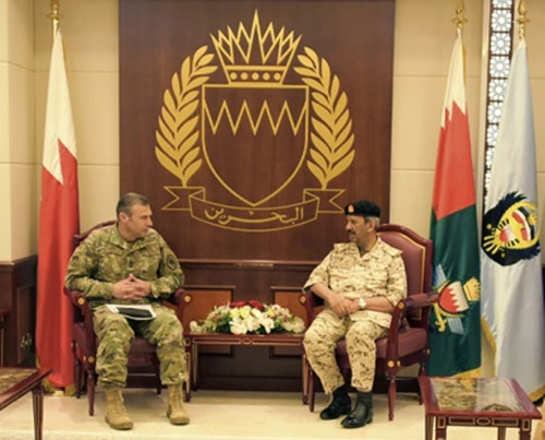 Commander of US Air Forces Central Command Visits Bahrain
