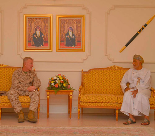 Commander of US Central Command Visits Oman