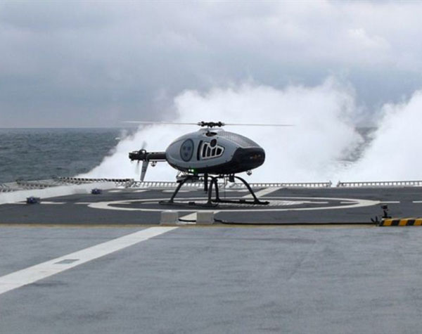 CybAero Performs Test Campaign from Visby-Class Corvette