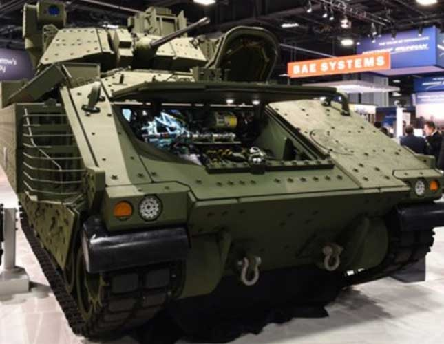 BAE Reveals Next Generation Bradley Prototype